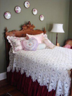 22 besten Crochet (Bedspreads) Vintage Bilder auf Pinterest ...
