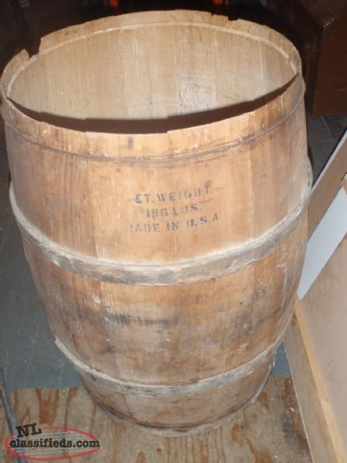 Antique Wooden Flour Barrel Barrel Antiques Find A Job
