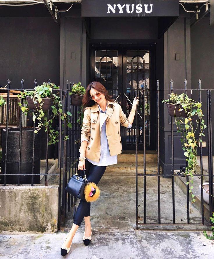 "1,513 Likes, 15 Comments - Jennifer Wei (@chienyu520jen) on Instagram: ""Had a wonderful lunch at Nyusu Sushi bar ~ Coat: @laparisienne.me…"""