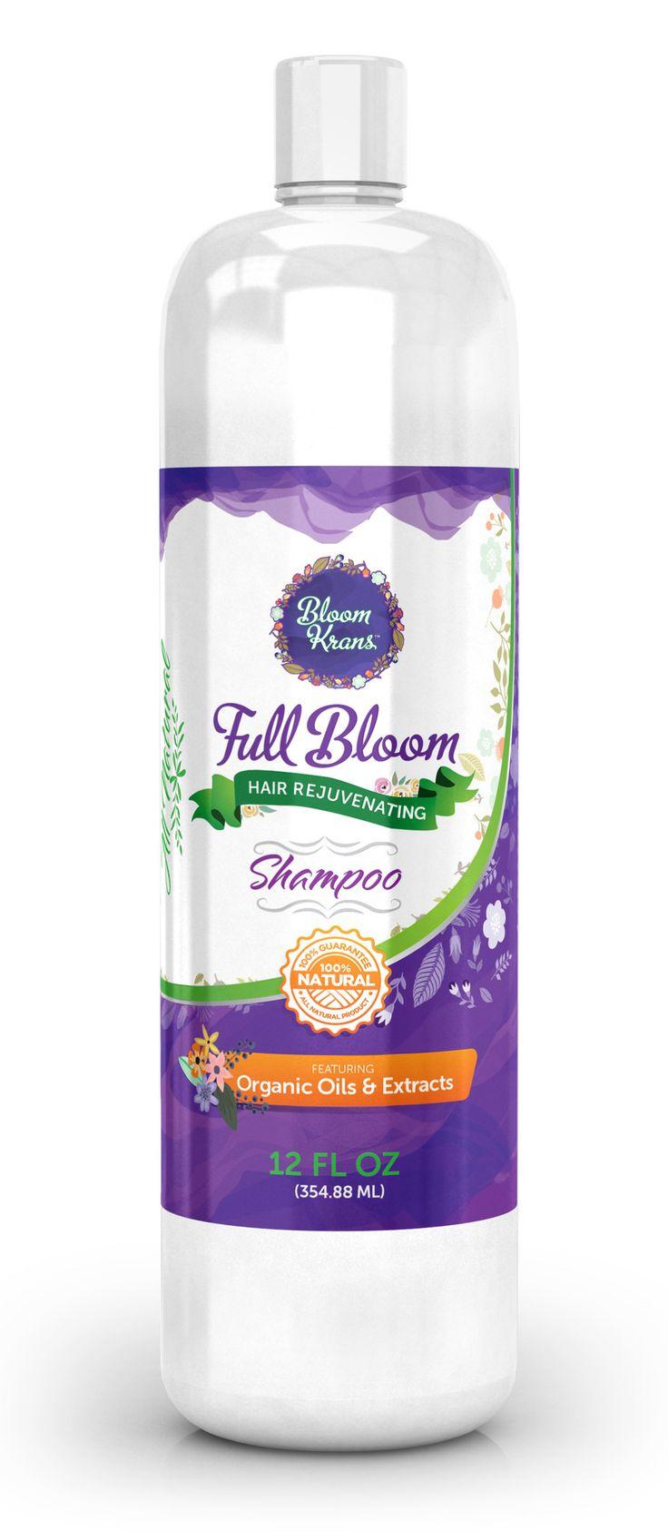 Anti Hair Loss Shampoo - Promotes Hair Growth - Organic & Natural Ing. (Biotin, Apple Stem Cells, Keratin, Saw Palmetto DHT Blocker) - Natural Shampoo -SLS Free Shampoo & Sulfate Free
