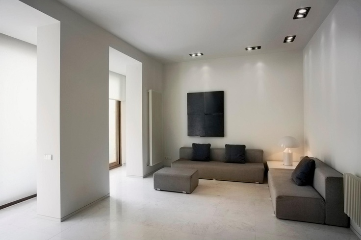 Installation environment with LOOK by MomoDesign. Italian design and avant-garde in a sitting room.