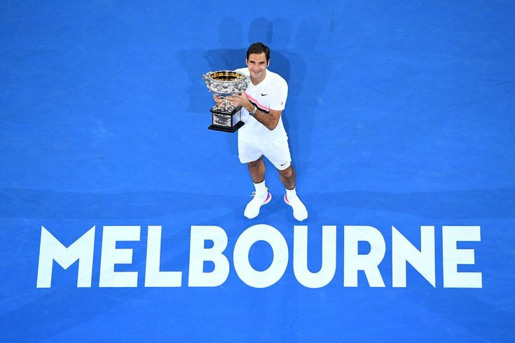 Roger Federer becomes the first man to win 20 Grand Slam Singles titles after winning the 2018 edition of the Australian Open in a nail bitting 5 setter against Croatia's Marin Cilic. Federer defended his Australian Open title and lifted the trophy for a record 6th time. Love you Roger Federer<3 I salute your dedication and love for what you do. #RF20