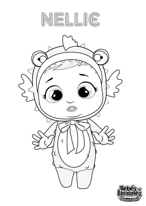 A Pintar Bebés Llorones Lágrimas Mágicas Bebé Llorón La Llorona Dibujo Bebe Niña