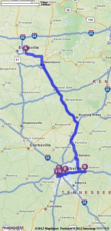 Official Mapquest Maps Driving Directions Live Traffic >> Driving Directions from Newburgh, Indiana to 100 Oaks Mall