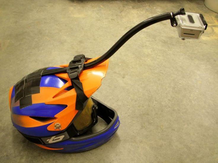 Homemade GoPro Helmet Mount