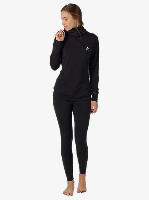 Burton Women's Base Layer Midweight Long Neck | Burton Snowboards Winter 16