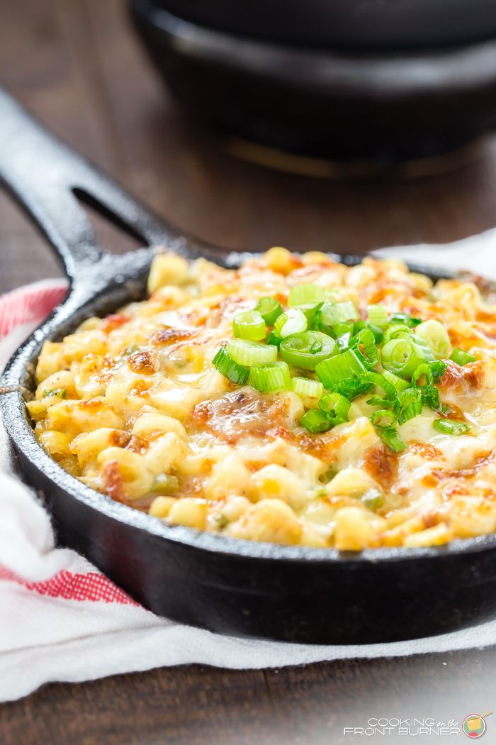 Bacon Cheese Corn Skillet|Cooking on the Front Burner|How does a side dish sound that has bacon, corn and cheese?  Your taste buds will be tantalized!