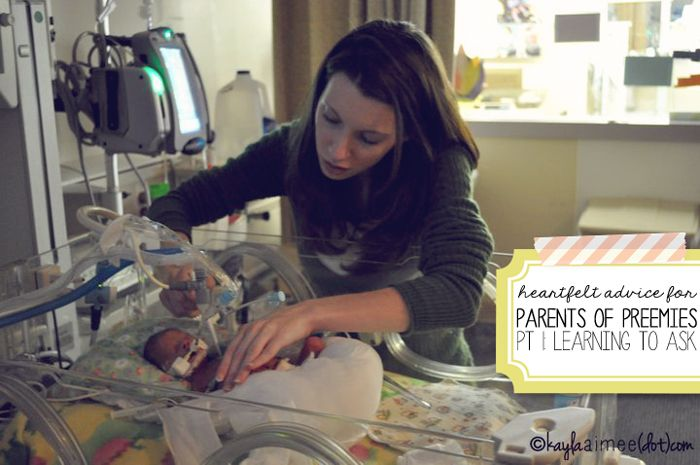 Advice For Preemie Parents: Learning To Ask The Questions (or, what I wish I'd known)