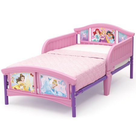Disney Princess Plastic Toddler Bed By Delta Children Forever Princess Mattress Not Included Walmart Com Princess Toddler Bed Toddler Princess Room Disney Toddler Bed Cheap toddler bed with mattress included