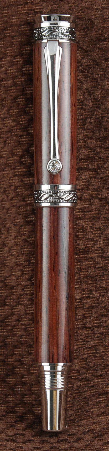 Handmade Cocobolo Fountain Pen (001) - Richard Daggett