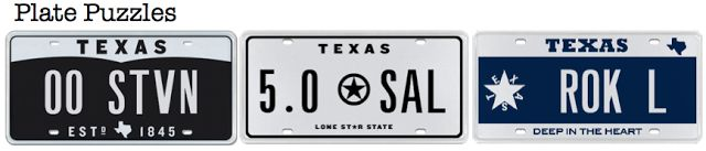 Want one of our cool license plate but not sure how to personalize it?  Check out this week's blog post for some great tips and ideas.  **P.S.* - Can you solve these three Plate Puzzles? Leave your guess in the comments here or the blog. http://blog.myplates.com/2013/11/whats-in-license-plate-name.html PL8 BLOG