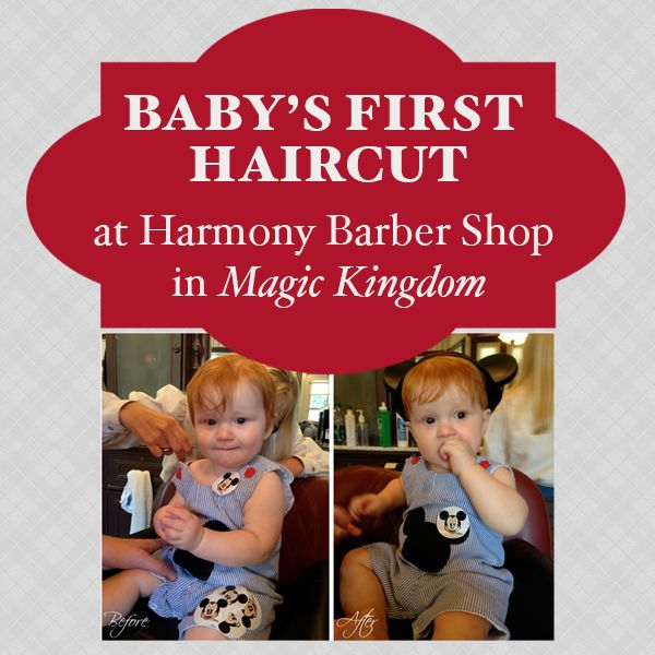 Getting a baby's first haircut at Harmony Barber Shop - cost, how to make an appointment, etc.