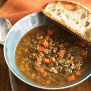 15-Minute Lentil Soup | Recipe | Lentil Soup, Lentils and Soups