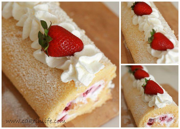 Yaz yaklaştıkça bol meyveli tarifler bizleri ve tabi ki sizleri bekler :) Rulo pasta zor gibi gözükse de aslında çok kolay hazırlanabilir...