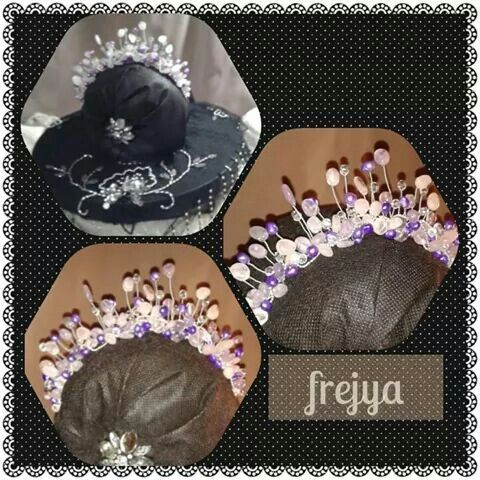 Tiara's and facinator's for sale