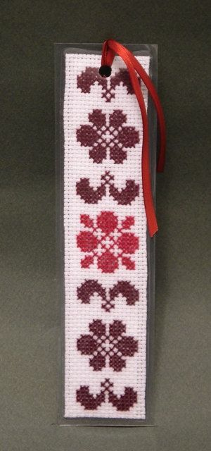 Cross Stitch Pattern, Authentic Motif, Bookmark , by ogusstudio on Etsy