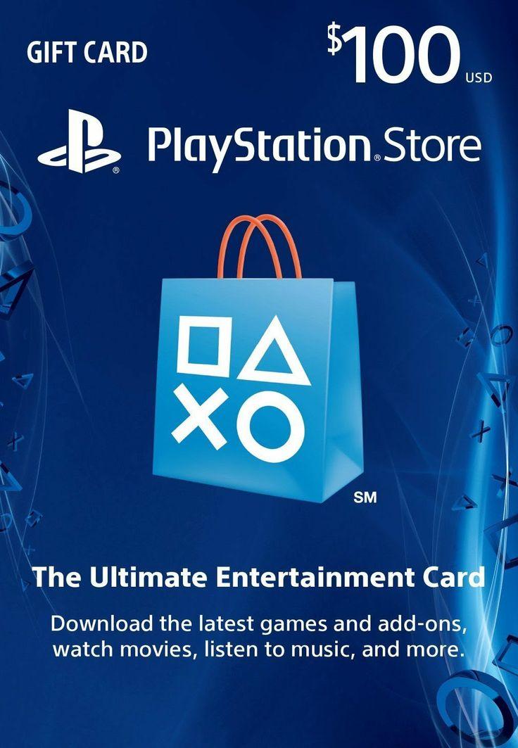 $100 PlayStation Store Gift Card   PS3  PS4  PS Vita Digital Code Reviews