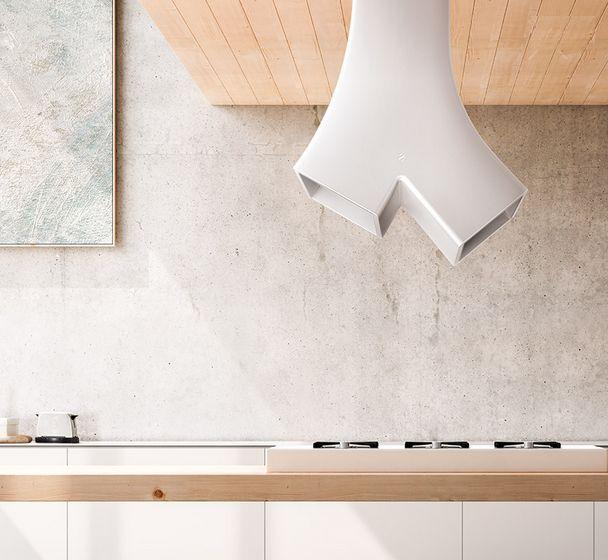 Campanas extractoras que le dan otra apariencia a la cocina - Cocinas con estilo