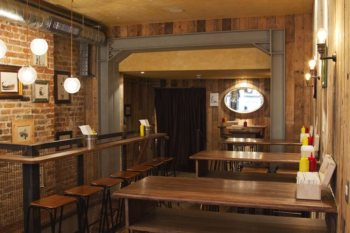 Bubbledogs and &/ The Kitchen Table by B3 Designers, London hotels and restaurants