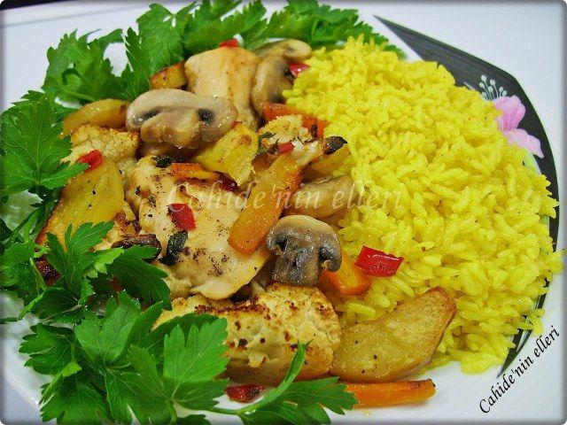 Fırın yemekleri   Cahide Sultan بِسْمِ اللهِ الرَّحْمنِ الرَّحِيمِ