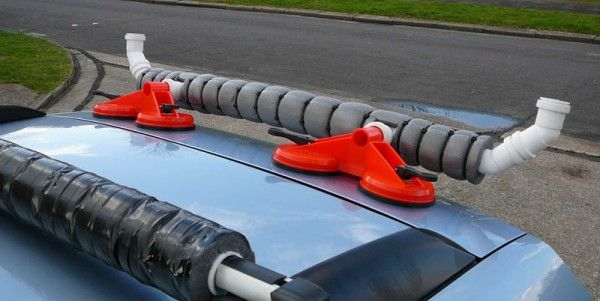 DIY - Kayak rear loading bar - UK Sea Fishing