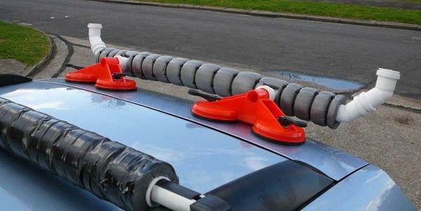 DIY - Kayak rear loading bar - UK Sea Fishing