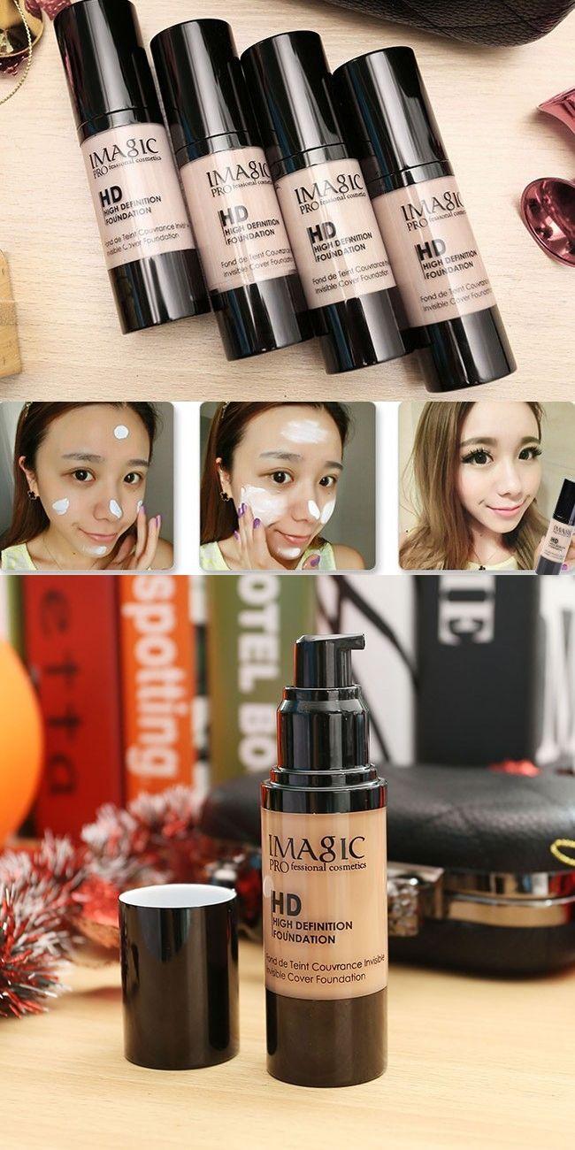 30ml Brand Face Concealer Contour Palette Liquid Foundation Makeup Corrector Primer Facial Cosmetics Waterproof Moisturizing bb