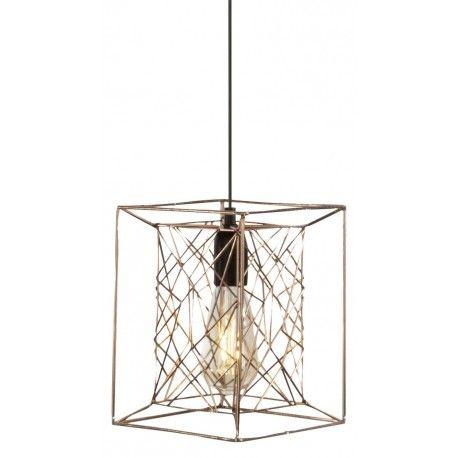 Kwadratowa nowoczesna lampa wisząca Kago