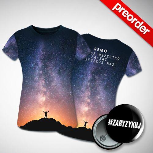(Preorder) REMO - Możesz wszystko zacząć jeszcze raz (Koszulka Męska)