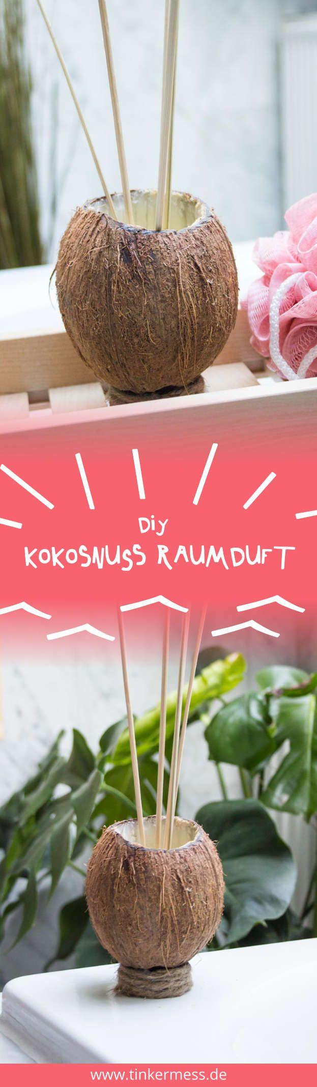 DIY Kokosnuss Raumduft Selber Machen
