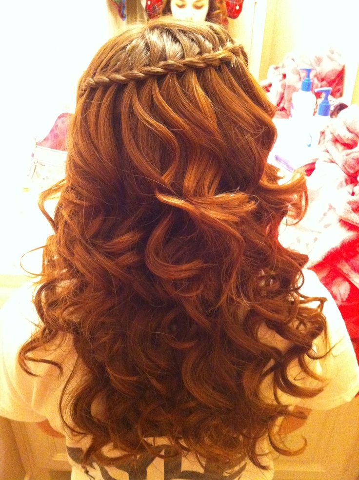Waterfall Braid Created By Megan Borzych Quot Work Dat Up