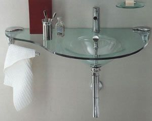 Regia 744009 Glass Sink