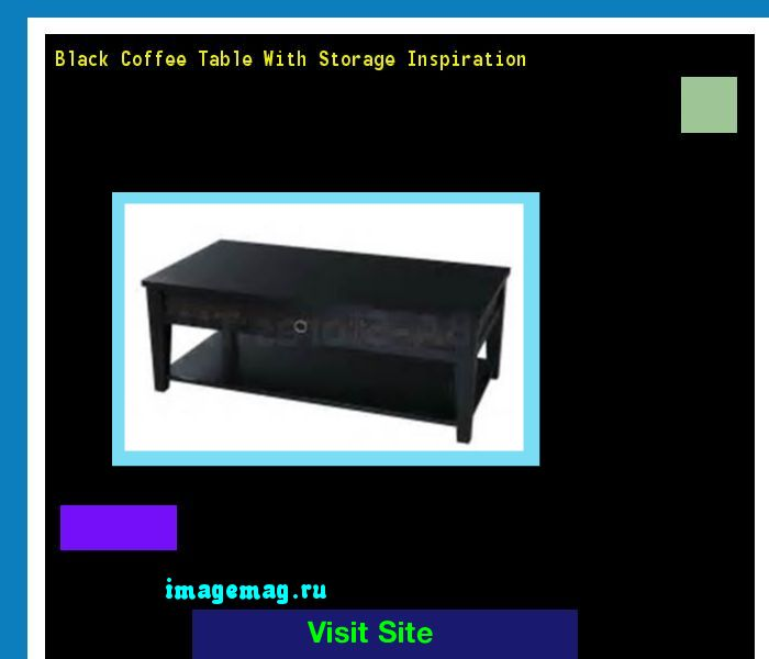 Black Coffee Table With Storage Inspiration 212430 - The Best Image Search