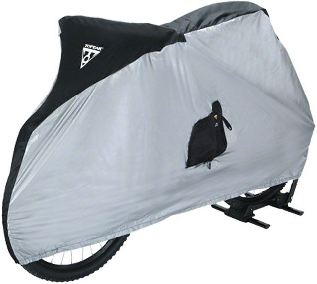 "Topeak Bike Cover for 26"" MTB Bikes White/Black"