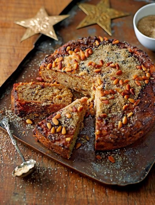 Gluten Free Apple Christmas Cake // Jamie Oliver