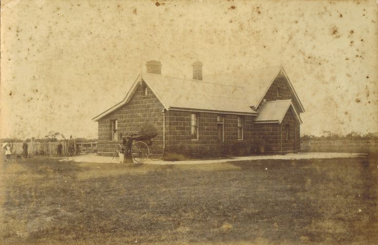 Connewarre State School No. 2088, Victoria.  One of a group of six photographs that ended up in Newcastle, NSW.