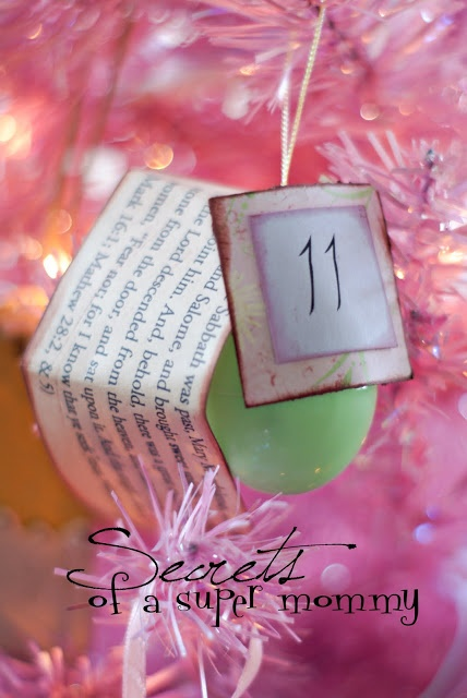 Countdown to Easter Scripture Eggs