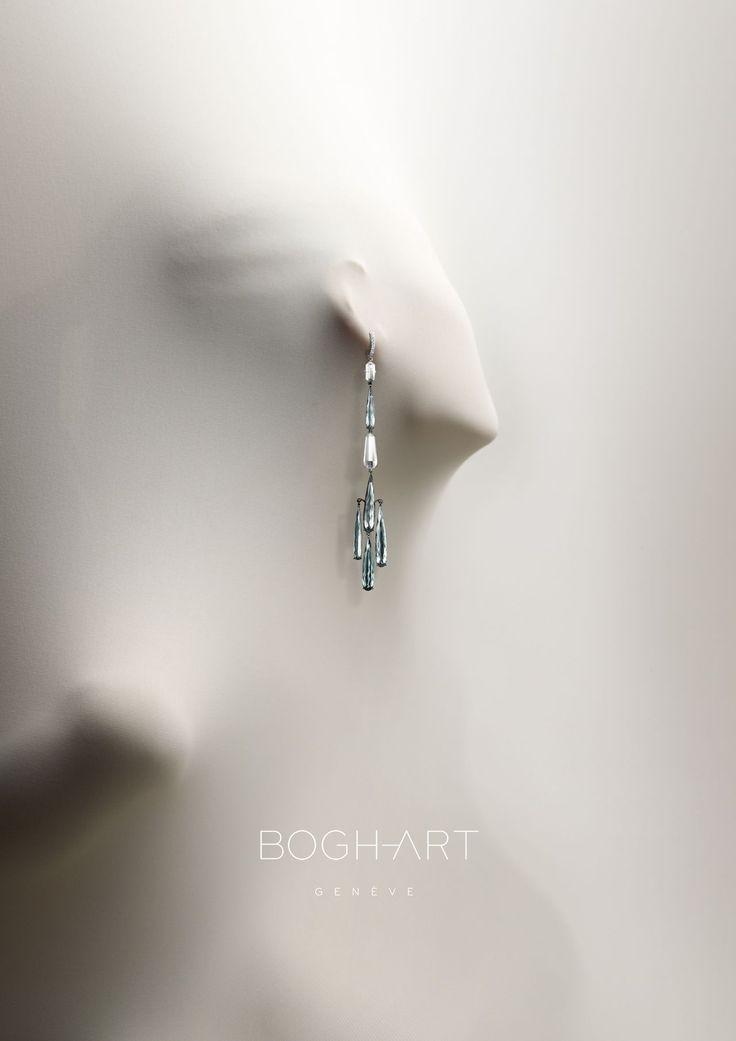 Bogh Art Geneve Print Ad - kind of creepy but very elegant