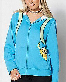 Jake Adventure Time Hoodie