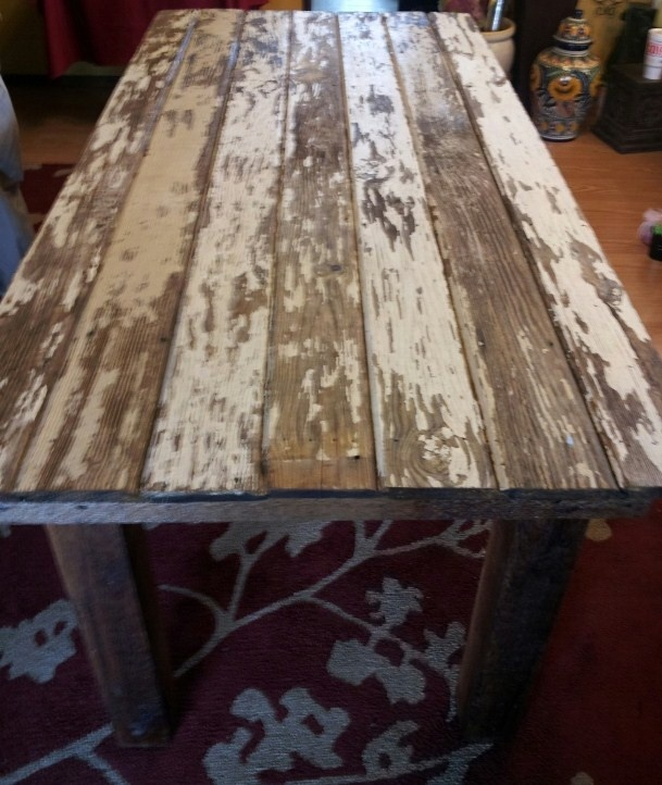 Another FARM table made by my husband!  https://www.dumpster-diva-mimi.blogspot.com