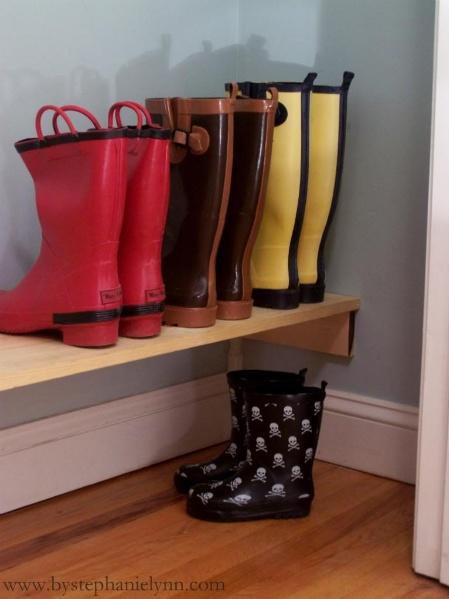 Tie Dye Folding Techniques Coats Shelves And Boot Storage