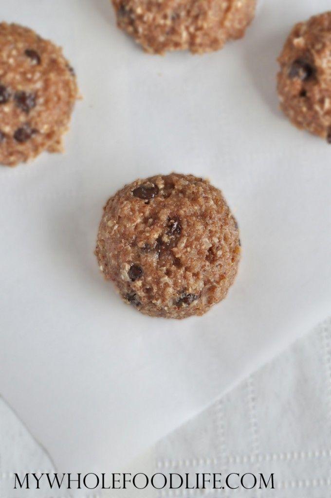 4 Ingredient Banana Coconut Cookies. Delicious!! Makes about 2 dozen. Use 2/3 quinoa to make the flour