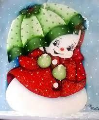 Resultado de imagen para Motivos navideños en pintura para PENDONES
