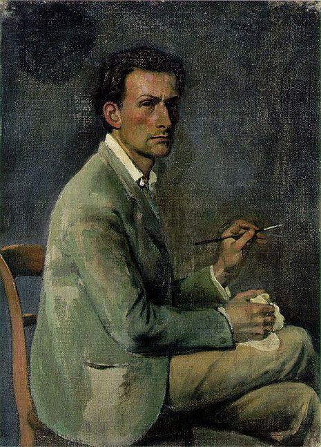 self-portrait .... Balthus (Balthazar Klossowski de Rola)