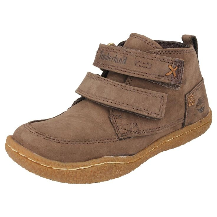 CHILDRENS INFANT TIMBERLAND VELCRO BOOTS IN BROWN - STYLE - 27878