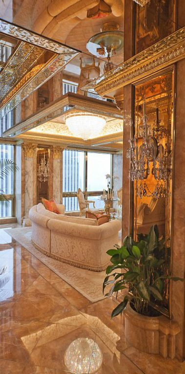 Donald and Melania Trump's New York City penthouse