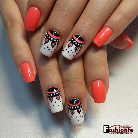 35+ PRETTY NAIL ART DESIGNS FOR SUMMER 2016 2017 | Fashionte