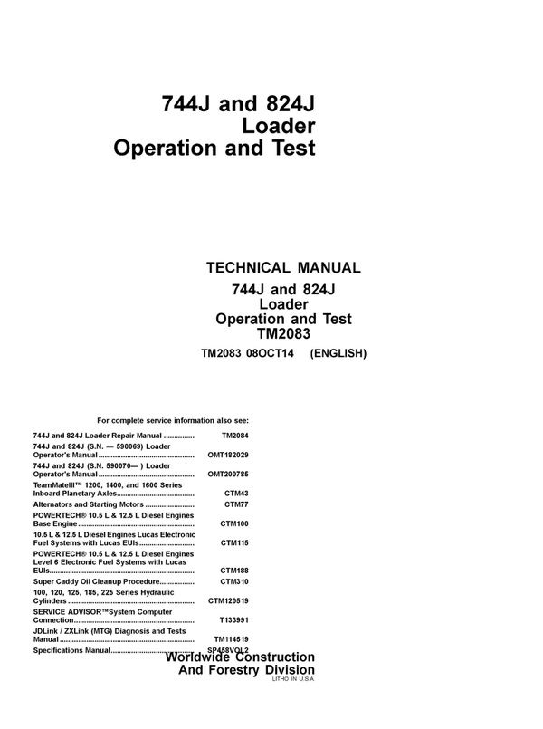 243 best Heavy Equipment Service and Repair Manual images on - operation manual