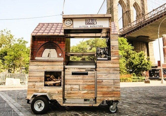 This Is the World's Smallest Wood-Fired Pizza Cart - my favorite one of the bunch !!