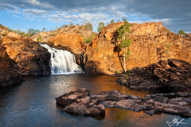 One of favourite places to swim - Upper Edith Falls, Nitmiluk National Park. Near Katherine NT, Australia. By StormGirl1 on flickr.